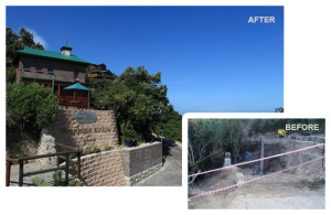 Boardwalk Lodge Before and After